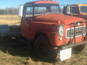 1961 International Harvester On a 1972 Jeep J-4800 chassis