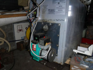 2 - Used Oil fired hot air furnaces