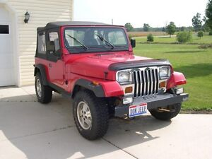 Wanted: Jeep TJ or YJ or Wrangler