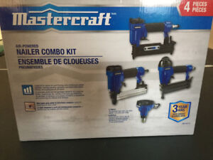 Brand New Mastercraft Nailer, set of 4