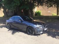 BMW 2 Series 218D M Sport 2.0 Diesel (143BHP), Coupe, 2014 (14 Plate)