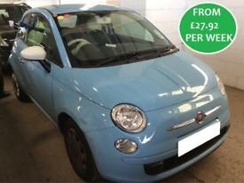 £121.01 PER MONTH Fiat 500 1.2 Colour Therapy Hatchback