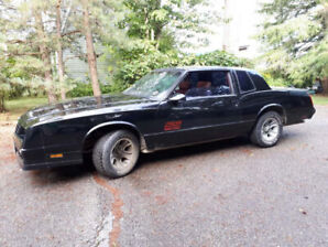1988 Chevy Monte Carlo SS T Bar Roof 350 engine