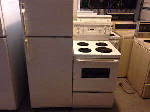 24 inch GE fridge AND stove