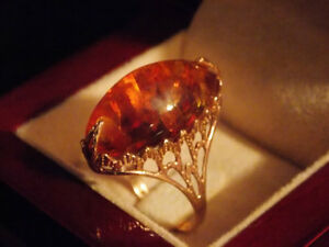 Russian Gold Ring