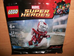 Rare LEGO Iron Man Silver Centurion Polybag - New, SEALED