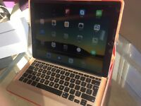 iPad Pro 128GB wifi - space grey with Logitech keyboard case