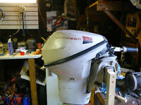 Johnson 9.5 Outboard
