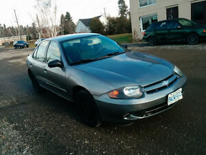 2003 Chevrolet Cavalier 4dr Sedan w/ winter tires