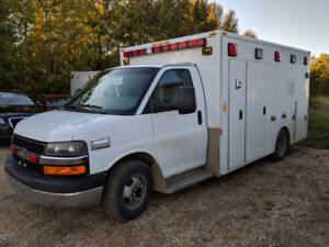 2011 Chevy Cutaway Ambulance, 2 to choose from! REDUCED!