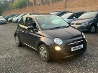 2014 Fiat 500 1.2 Pop 3dr [Start Stop] **LOW MILES**CAT D** HATCHBACK Petrol Man