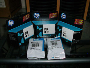 Lot of Genuine HP 98 and 95 ink cartridges