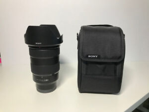SONY 24-70mm GM F2.8 well protected, no cratch+original lens bag