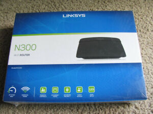 NEW Linksys E1200(N300) Wifi Router,  300mbps, Advanced Security