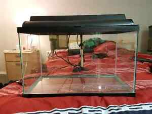 Fish tank 20 ga with accessories