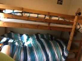 Bunk beds and high sleeper