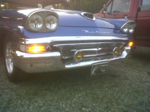 1958/57 Meteor/Fairlane 500 PARTS FOR SALE, CAR NOT FOR SALE.