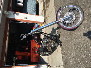 Maxsum custom chopper rigid