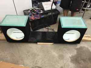 "Sub box for 2-12"" subs"