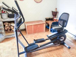 2 en 1 Elliptique et Vélo Proform Trainer