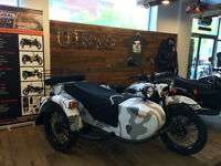 URAL SIDE CAR  GEAR UP  INJECTION EDITION CAMO