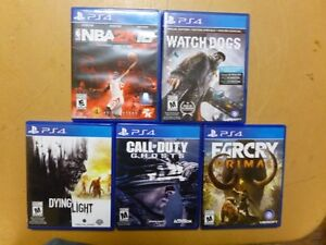 PS4 Games for sale!!