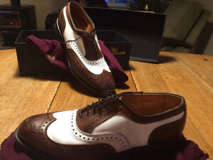 "Allen Edmonds ""Spectator Shoes"""