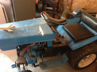 Antique 1970's Lawn Tractor