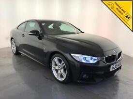 2015 BMW 420D M SPORT AUTOMATIC DIESEL BMW SERVICE HISTORY 1 OWNER FINANCE PX