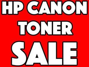 HP & CANON BLACK TONER CARTRIDGE ON SALE - 285 285A 85A 85 128 - WHOLESALE PRICING  CALL NOW 647-499-5353