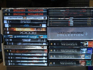 Collection of DVDs, Boxsets