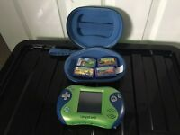 Leapfrog Console, case and 4 games £15