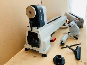 Craftex CX-Series LATHE BENCH TOP CSA CX801 with EXTENSION TABLE