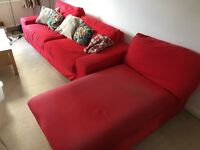 Ikea Kivik Corner Group Sofa And Chaise Lounge