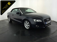 2011 61 AUDI A5 TDI CONVERTIBLE 1 OWNER SERVICE HISTORY FINANCE PX WELCOME