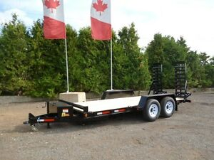 Canadian Made - Bobcat HD Low-Bed Float Trailers