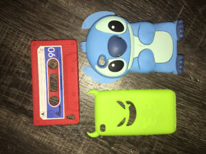 3 Ipod touch 4 cases!