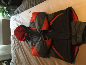 Kids winter jacket and snow pants