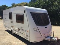 2006 LUNAR CLUBMAN 2 BERTH TOURING CARAVAN WITH AWNING MOTOR MOVERS AND EXTRAS