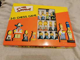 The Simpsons 3D CHESSgame