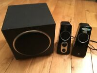 Logitech 2.1 speaker sound system