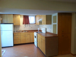 Walkout Bachelor apartment for rent!!
