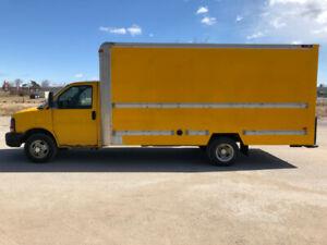 2008 Chevy Express 3500 Cube Van