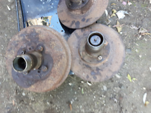 Knock Off type Hubs ( with rotors and drums )