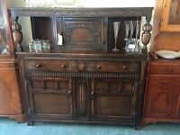 Stunning antique court cupboard Welsh dresser