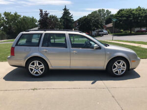 2005 VW Jetta Wagon GLS, only 215,000 Kms!