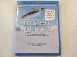 Frozen Planet Complete Series (blu-ray)