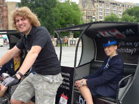 Pedicab Driver Required £10/hr