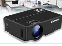 Excelvan projector with 100 inch screen and leads