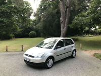 2004 Ford Fiesta 1.4 Finesse Automatic 5 Door Hatchback Silver
